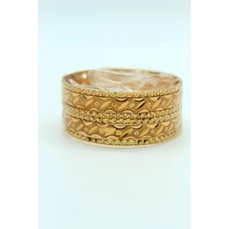 Bijoux indiens bracelets plaqué or