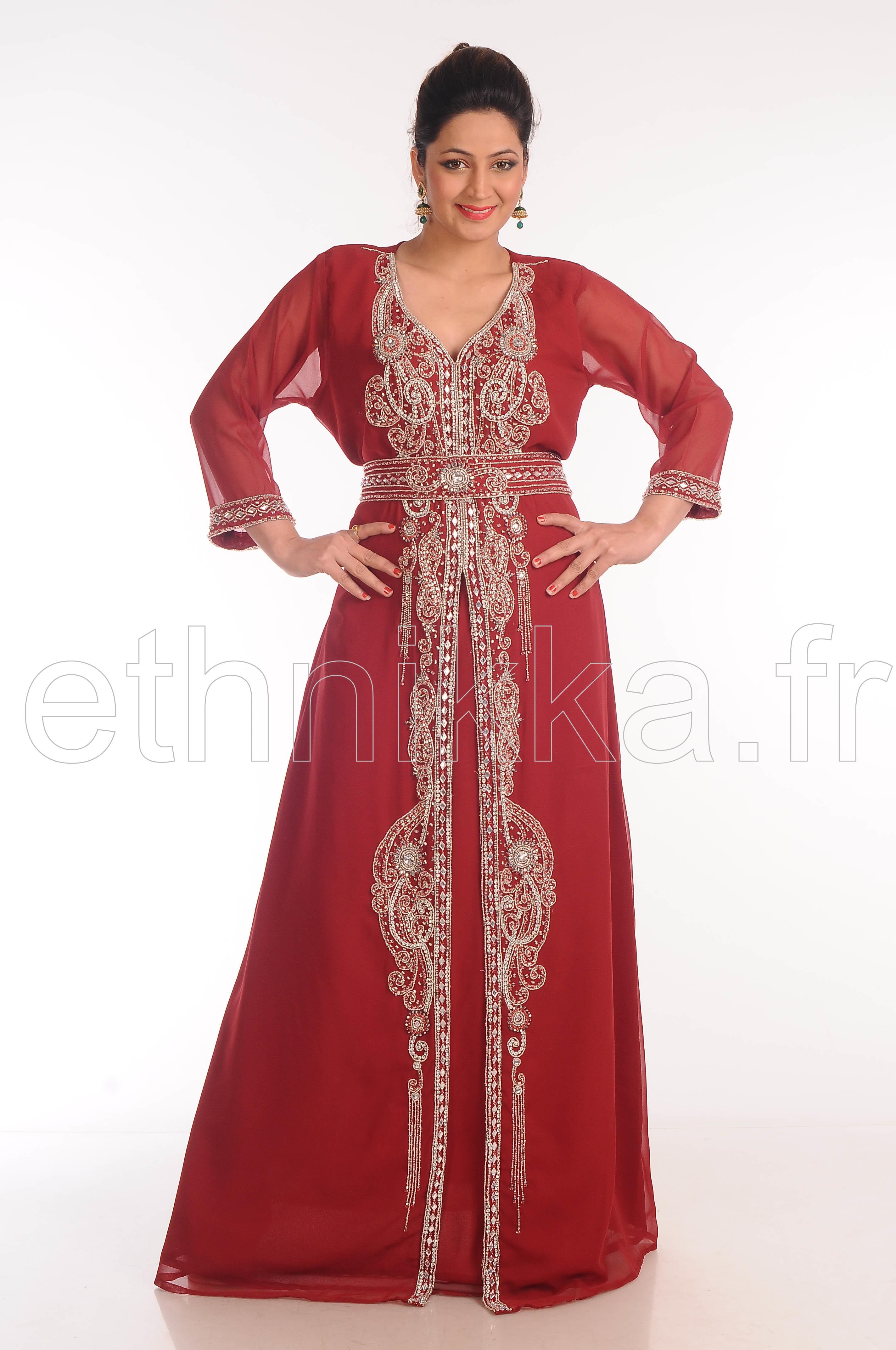 Dubai Robe Orientale De Robe Et Pas Cher Mariage Caftan