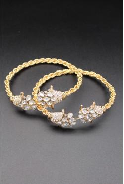 Bracelets de pieds plaqué or khalkhal