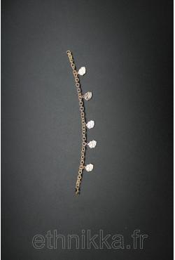 Bracelet Reunion plaqué or