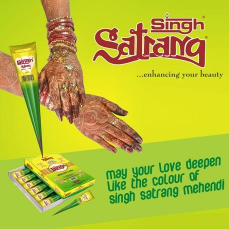 Cone henné pour tatouage Singh