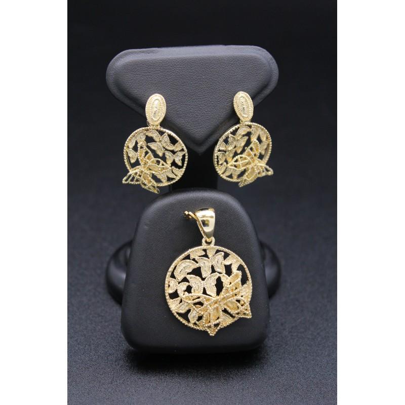 Promotion Parure bijoux orientaux en plaqué or papillon b5cbcf9a9a9c