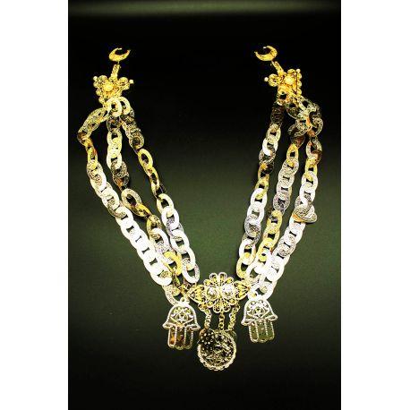 Biijou Berbère oriental plaqué or