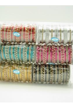 Bracelets indien strass et diamants