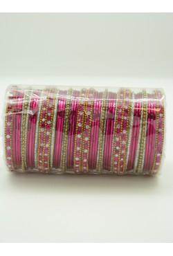 Bracelets indiens bangles strass couleur diamant