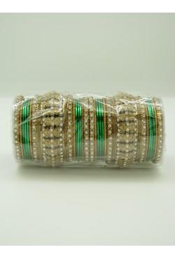 Bracelets d'Inde bangles paillette et pierres Bollywood