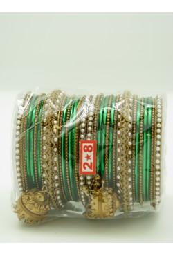 Bracelet indien bangles traditionnel grelots