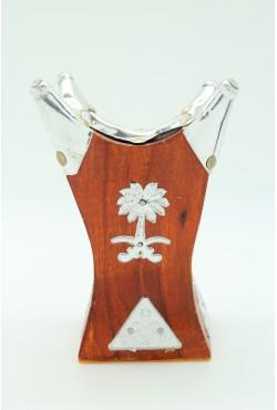 Encensoir en bois brule encens