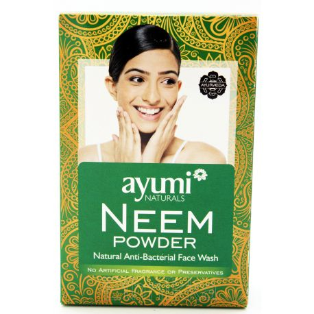 Ayumi naturals Neem Powder Savon et masque anti-bactérien