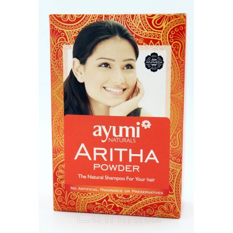 Ayumi naturals Aritha powder Shampoing naturel