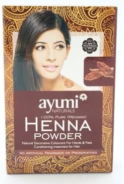 Ayumi naturals henna powder 100% pure cheveux et corps