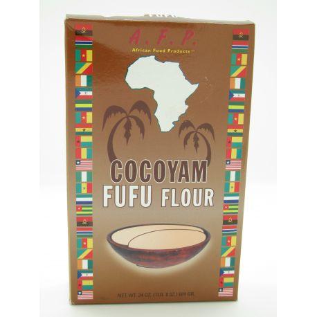Fufu farine de taro, manioc et pomme de terre - Cocoyam Fufu Flour