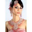 Bijoux indiens bollywood rose