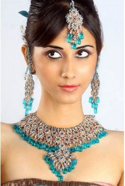 Parure de mariage bijoux indiens