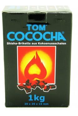 Charbon naturel chicha Tom Cococha Bleu 1Kg