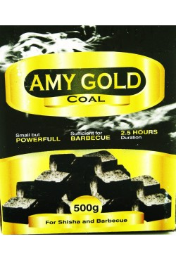 Charbon chicha naturel AMY GOLD 500 grammes