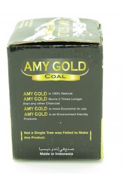 Charbon chicha naturel AMY GOLD 500 grammes