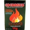 COCOBRICO 1 kg charbon chicha naturel