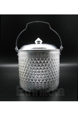 Seau thailandais en aluminium