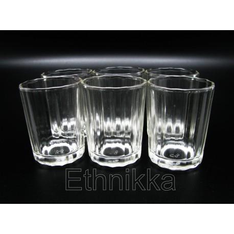 Lot de 6 verres samba