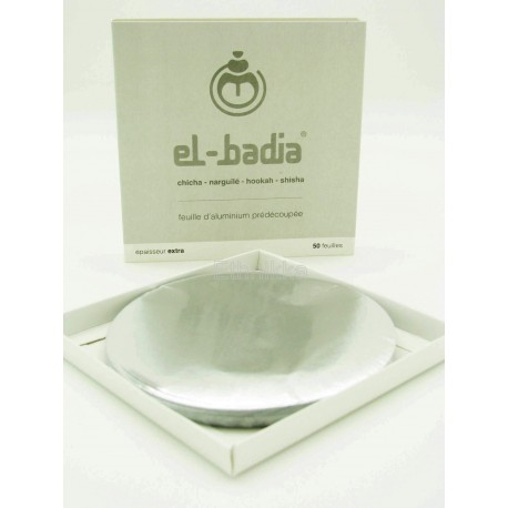 Feuilles d'luminium prédécoupées El-Badia