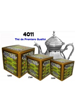 4011 thé vert de première qualité