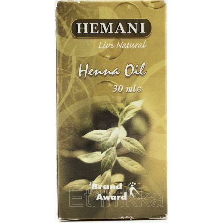 Huile de henna Hemani
