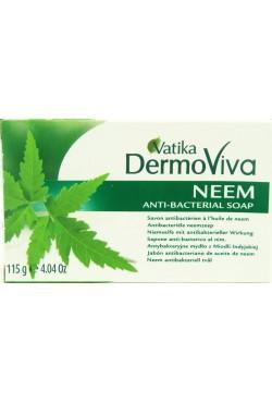 Savon Vatika Dermoviva à l'huile de neem