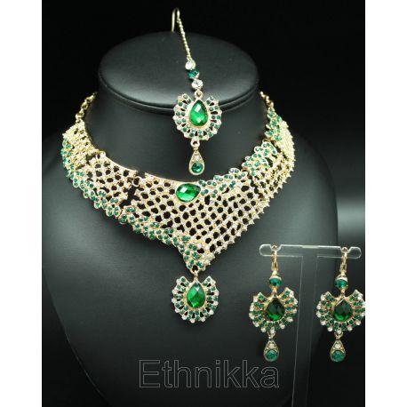 Acheter une parure de bijoux indiens ethnique à plaqué or existe