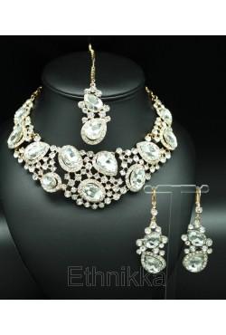 Bijoux indiens parure Bollywood fruité