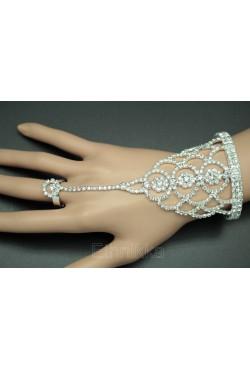 Bracelet de bague bijoux ethniques en plaqué argent ou doré