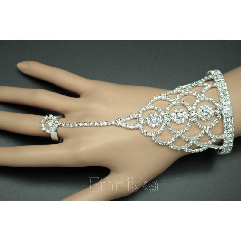 bracelet bague argent