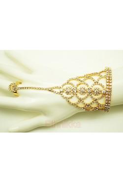Bijoux ethniques bracelet de main parure