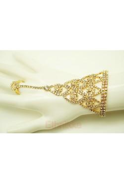 Bijoux ethniques de main parure bracelet de bague
