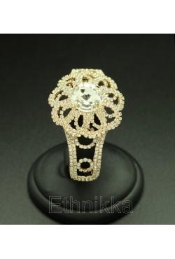 Bijou oriental bracelet strass fleur