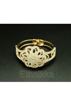 Bijou oriental bracelet fleur de strass