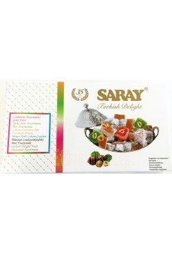 Loukoum assortiments goût fruits - Saray