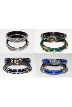 bracelet indien rose cristal swarovski