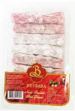 Loukoum à la grenadine et noisettes - BEYBABA