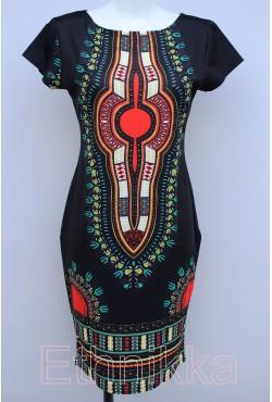 Robe africaine noire
