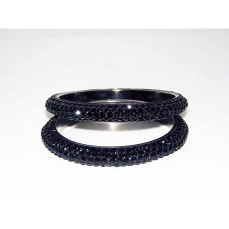 bracelet indien laqué cristal swarovski existe en plusieurs couleurs