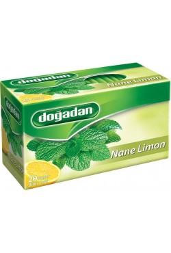 Tisane thé menthe et citron - Dogadan