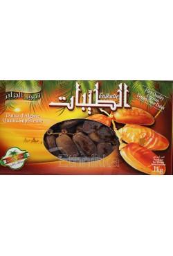 Dattes d'algérie Taibatte 1kg
