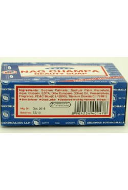 Savon Satya Nag champa beauty and soap 135g