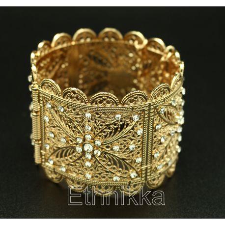 Bracelet oriental strass