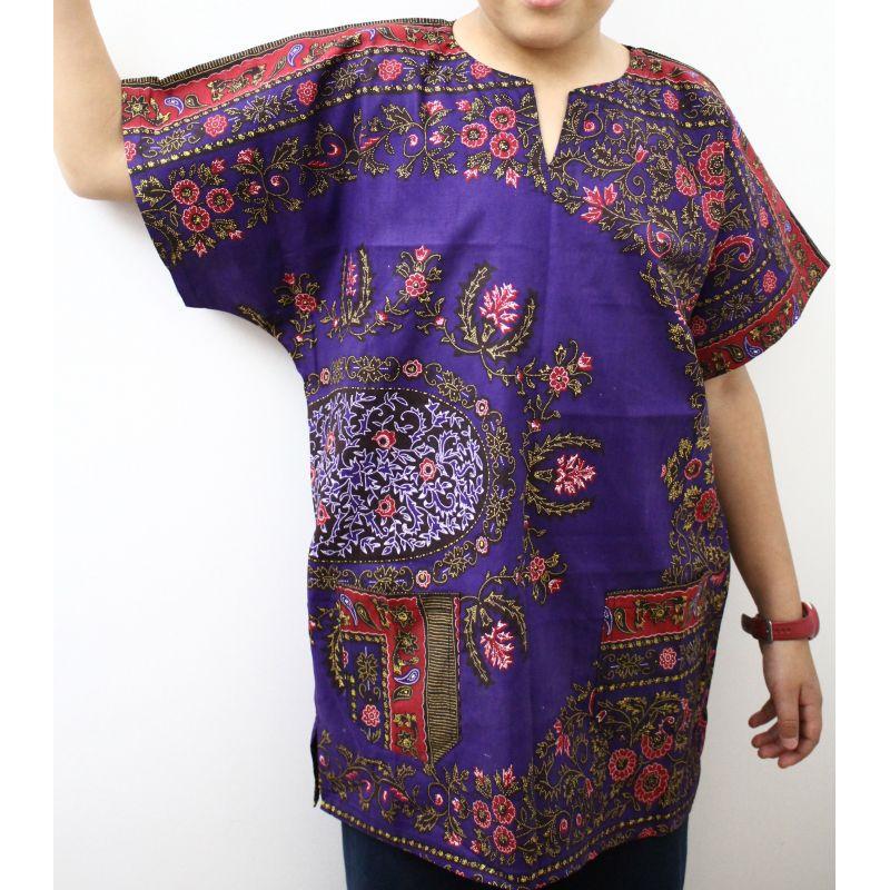 exclusive range outlet really cheap Achat de tunique africaine pour enfant violette Wax pour enfant