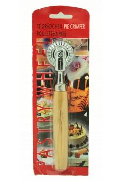 Roulette à pâte cannelée