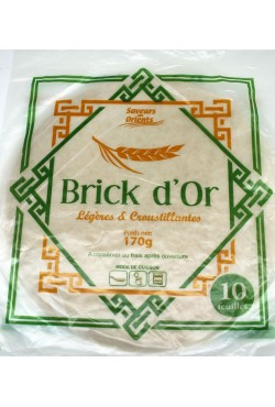 Feuille de Brick d'or