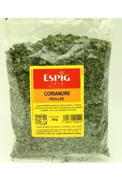 Coriandre herbe aromatique en feuilles
