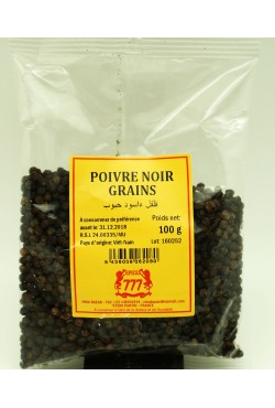 Poivre noir épice en grains